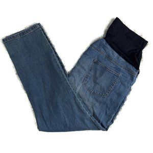 GREAT EXPECTATIONS Maternity Jeans Distressed XL